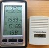 ワイヤレス屋内外温度計