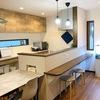 キッチンの立ち上がり壁を【20㎝】にしました!