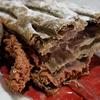 セブンイレブン「カカオ香るチョコホイップパイ」さくさくポロポロのパイ生地&甘さと苦さの心地よいバランス( ̄▽ ̄)