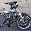 【ミニベロ1】軽量折り畳み自転車ルノー(6.8kg)を購入しました