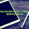 iPad Pro 10.5インチ またはiPad Airを買うなら持っておきたい便利なおすすめアイテムまとめ