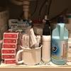 洗面台下の片付け。使いやすさを優先した結果…。