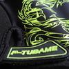 g0004 F-TUBAME サイクリンググローブ 夏 3D 立体 ハーフフィンガー GEL入り 耐磨耗性 換気性 3色 男女兼用(イエロー,XL)