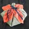 花の巾着 作りました。