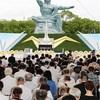 長崎72回目の原爆の日 市長、核兵器禁止条約へ参加求める
