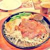 【福島 アメリカンステーキグアグア】 食べきれるか?牛250グラム+鳥150グラム