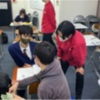 英語構文の授業と新人先生