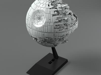 【SW】果たしてビークルなのか!?「ビークルモデル 013 デス・スターⅡ」商品化決定!