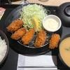 松乃家のカキフライ定食