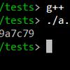 C++のコンパクトなハッシュライブラリ