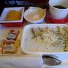 帰りの飛行機(NY-TY JAL005便)と機内食と買って帰った自分のお買い物。
