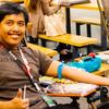 【ボランティア】フィリピン赤十字との定期献血活動