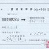 東京モノレールの乗車券