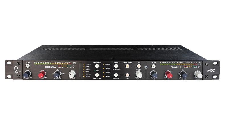 「RUPERT NEVE DESIGNS MBC Master Buss Converter」製品レビュー:トランス回路のオン/オフを選べる2chADコンバーター&リミッター