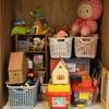 家族みんなが分かりやすいおもちゃ収納へ  お片づけレポ① 友達の家でお手伝いさせていただきました!