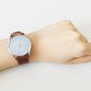 今年買ってよかったもの。水色の文字盤がかわいいスカーゲンの腕時計。