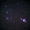 風のある夜は~たまにオリオン三ツ星とか