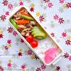 #798 カラフル野菜炒め弁当