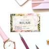 【名刺印刷】可愛い名刺・カード満載。上品・高級感のある「サロン名刺」で印象UP♡