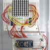 Arduino+8×8マトリックスLEDでコマアニメ表示