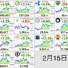 2月15日の仮想通貨・投資報告