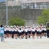 チャレンジ運動会⑯ 3・5年生 整列・体操