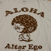 "HAWAII Local  Brand  ""ALTA EGO""  のTシャツが Cute !"