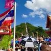 お釈迦様の降臨!?山から500人の僧侶が托鉢に降りてくる!【タイの観光マイナー県散策:ウタイタニー県】
