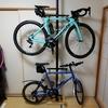 自転車部屋を整理すべくミノウラバイクタワー25Dを買ったぞ