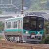 小浜線用125系の試運転を撮る。