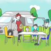家族4人でキャンピングカーに乗って日本中を旅してみようと思い立った話