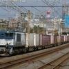 10月14日撮影 東海道線 平塚~大磯間 貨物列車撮影 3075ㇾ 2079ㇾ やっとロクヨンが撮れた