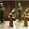 西安大唐西市博物館(その26:2階常設展⑳胡の風俗)