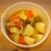 鯖ポトフ、豚肉野菜炒め、鱚天ぷら、玉子焼き