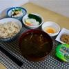5/27えのき高菜スープ 5/28ホテルビュッフェ 5/29めかぶ納豆  @減量めし