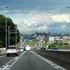 ★昨日は雲の多い東京の空だった♪