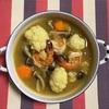 腎陽を温める海老でカレースープ