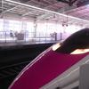 キティちゃん新幹線のおすすめ乗車駅。始発は大混雑だから…