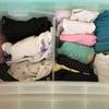 洗濯物たたみ。ゆるく手放してみました。