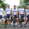 第 85 回全日本自転車競技選手権大会ロード・レース  KINAN Cycling Team が開催地・大島入り