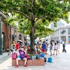 2017年夏 台湾旅行記 5日目:台湾高鉄で高雄市へ、駁二藝術特區と瑞豊夜市