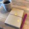 シンプルな手帳に100均のシールでおしゃれに変身!気分を上げる手帳デコ