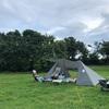 梅雨明け前の強行キャンプ