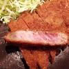 【東京・池袋】鉄板の上で焼く牛かつ、「牛かつ いろは」!
