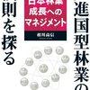 先進国型林業の法則を探る 〜日本林業成長へのマネジメント〜