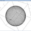 球面三角形メッシュ