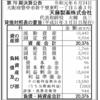 天藤製薬株式会社 第70期決算公告