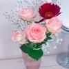 花を愛でるように。