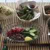 夏の惣菜盛合わせ(✴︎ダイナソーケールのピーナツ味噌和え✴︎パセリの佃煮風)覚書