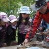 森のお遊び会 9月 唐箕 飯盒炊爨 野鳥の巣